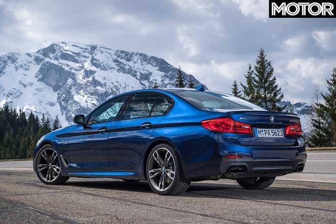 BMW M 550 I X Drive Rear Jpg