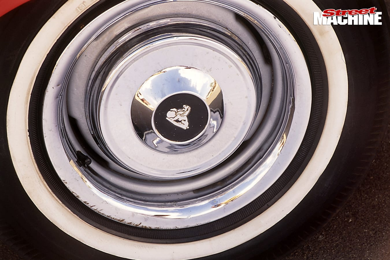 Holden EH delivery wheel
