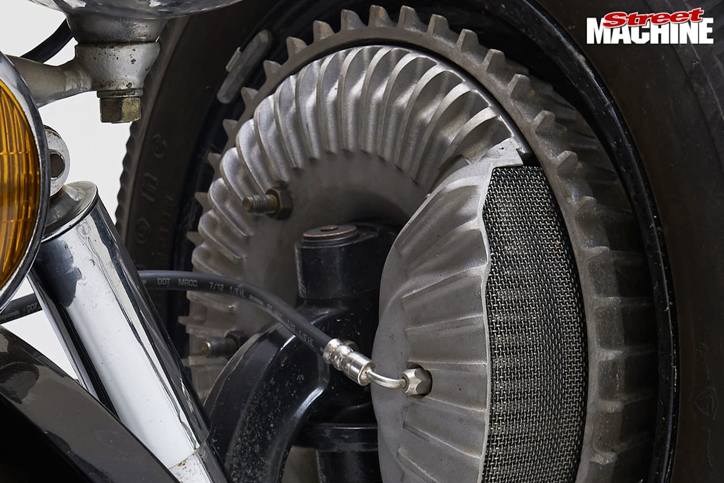 1932 Ford roadster brakes