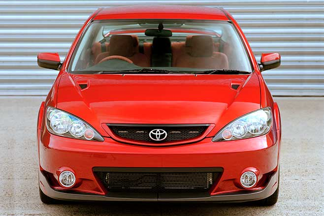 Toyota Camry TS-01 used a 3.0-litre supercharged V6.