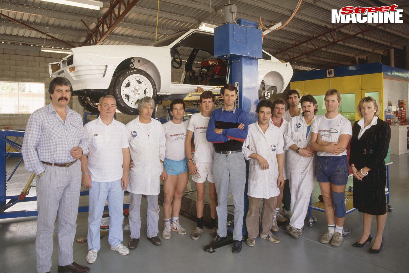 Alfa Romeo Giocattolo Group B team