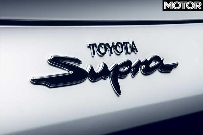 Toyota 2 Litre Supra Badge Jpg