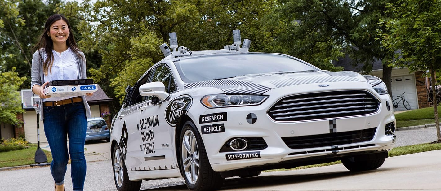 Self driving tech to learn by delivering pizza
