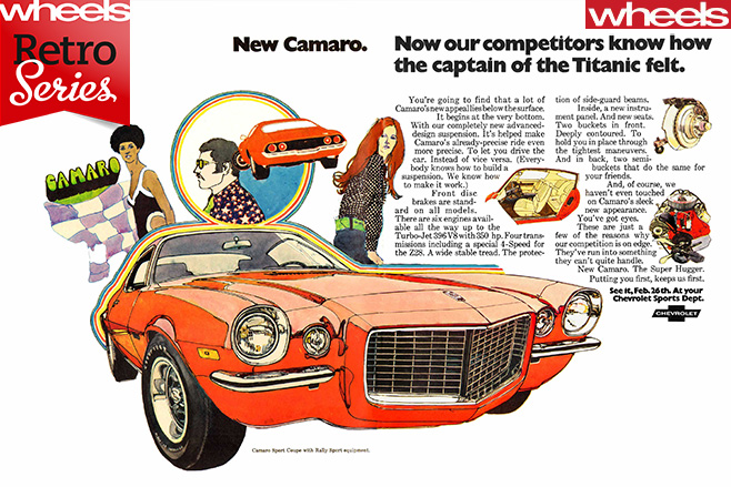 1970-Chevrolet -Camaro -advertisement