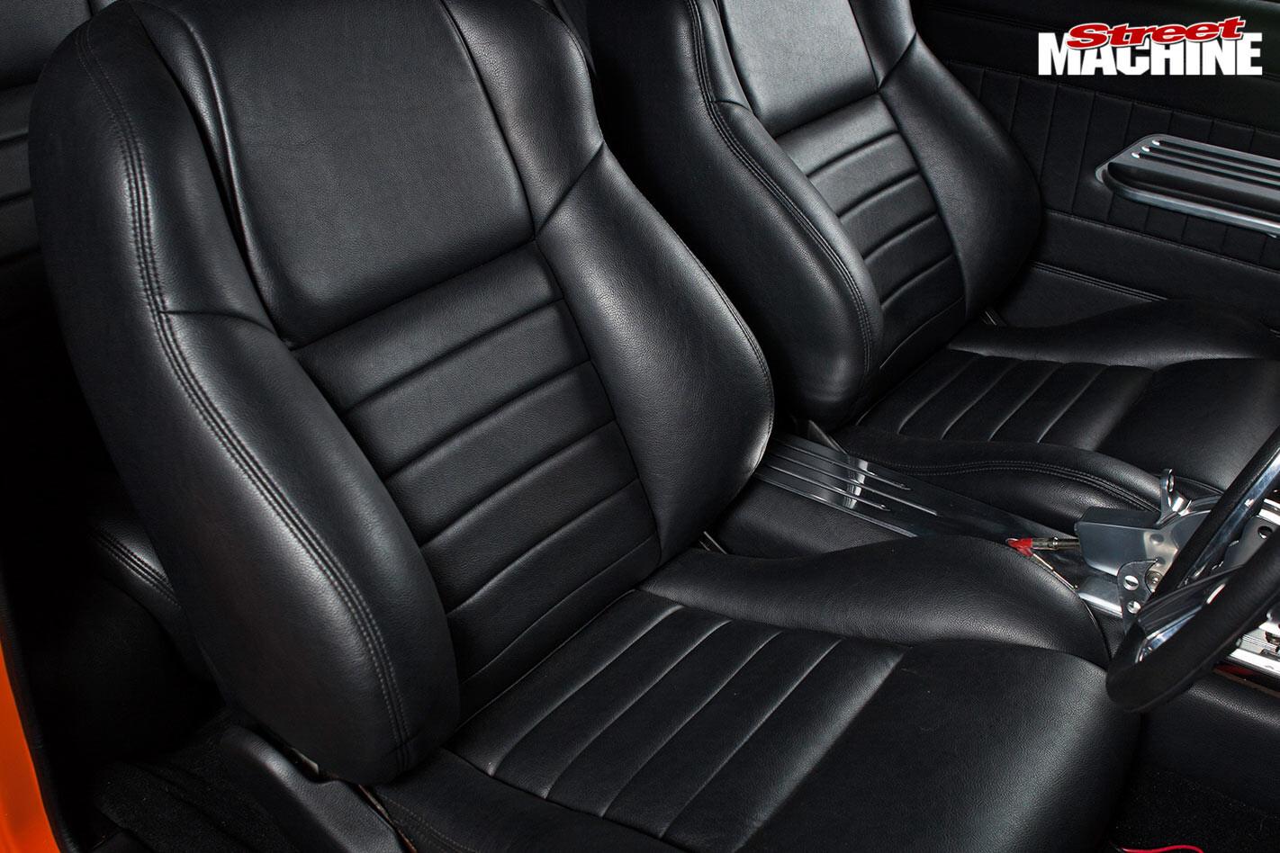 Holden HQ GTS Monaro rear seats