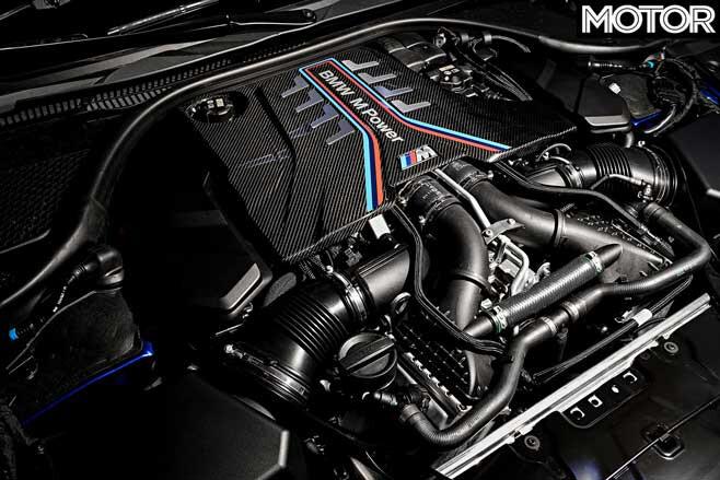 BMW M 8 Competition Engine Jpg