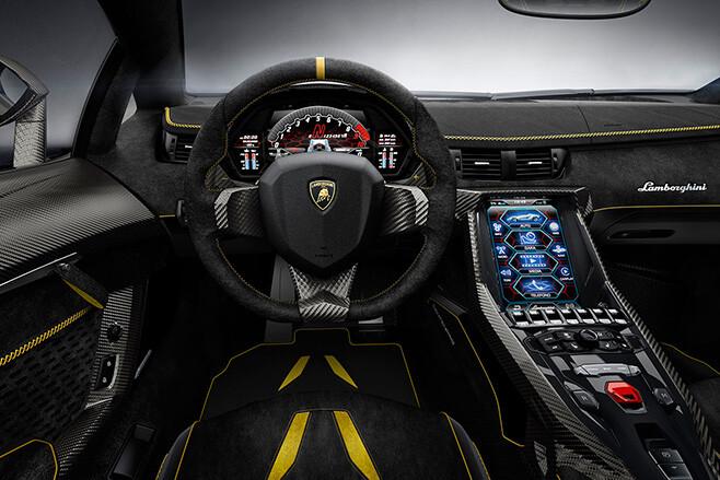 Lamborghini Centenario Interior Jpg