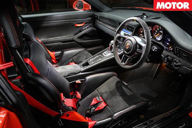 Porsche 911 GT3-RS interior