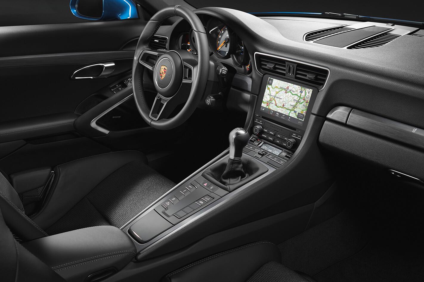 Porsche Gt 3 Touring Interior Jpg