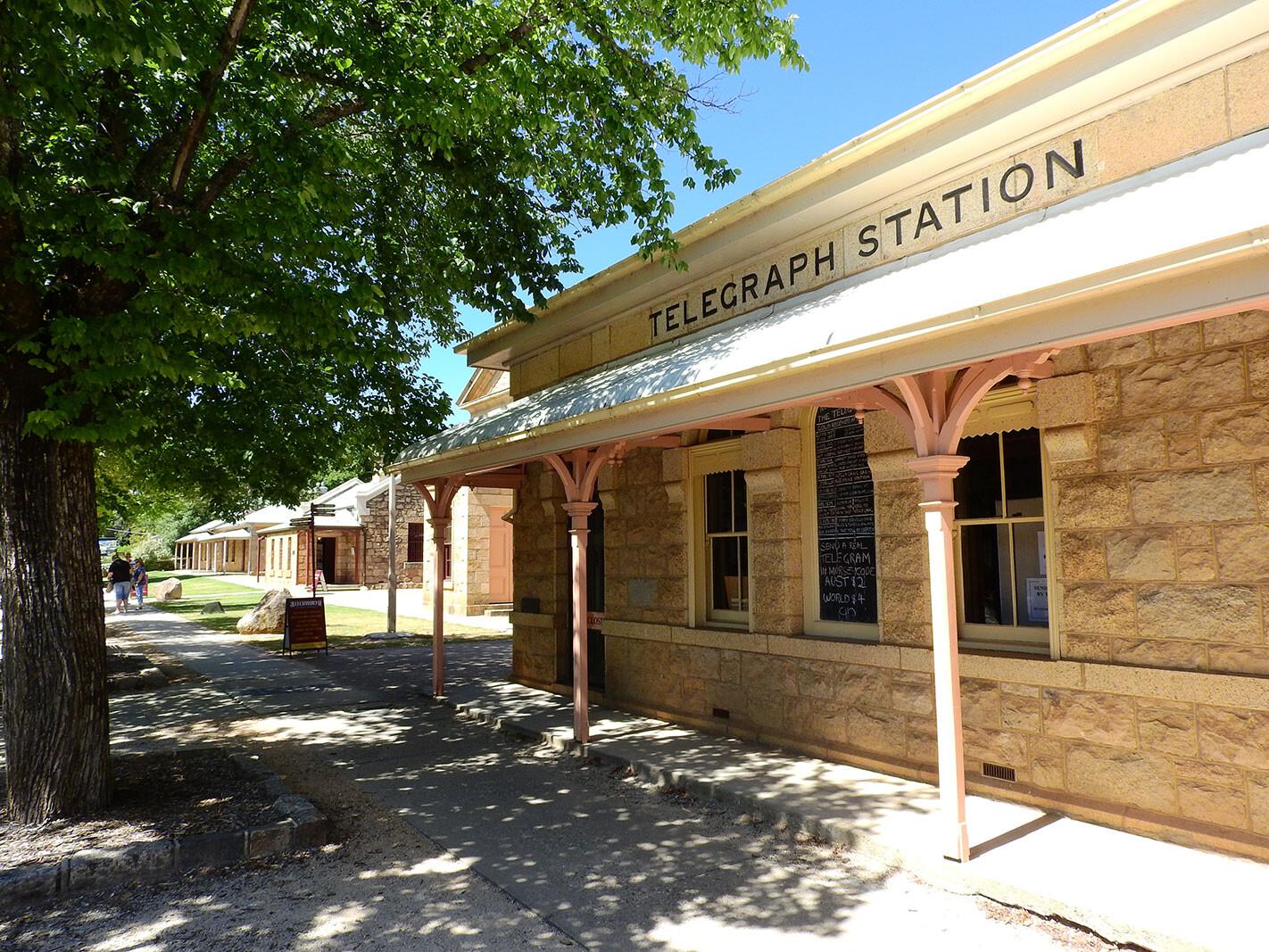 Historic Telegraph Station - Beechworth