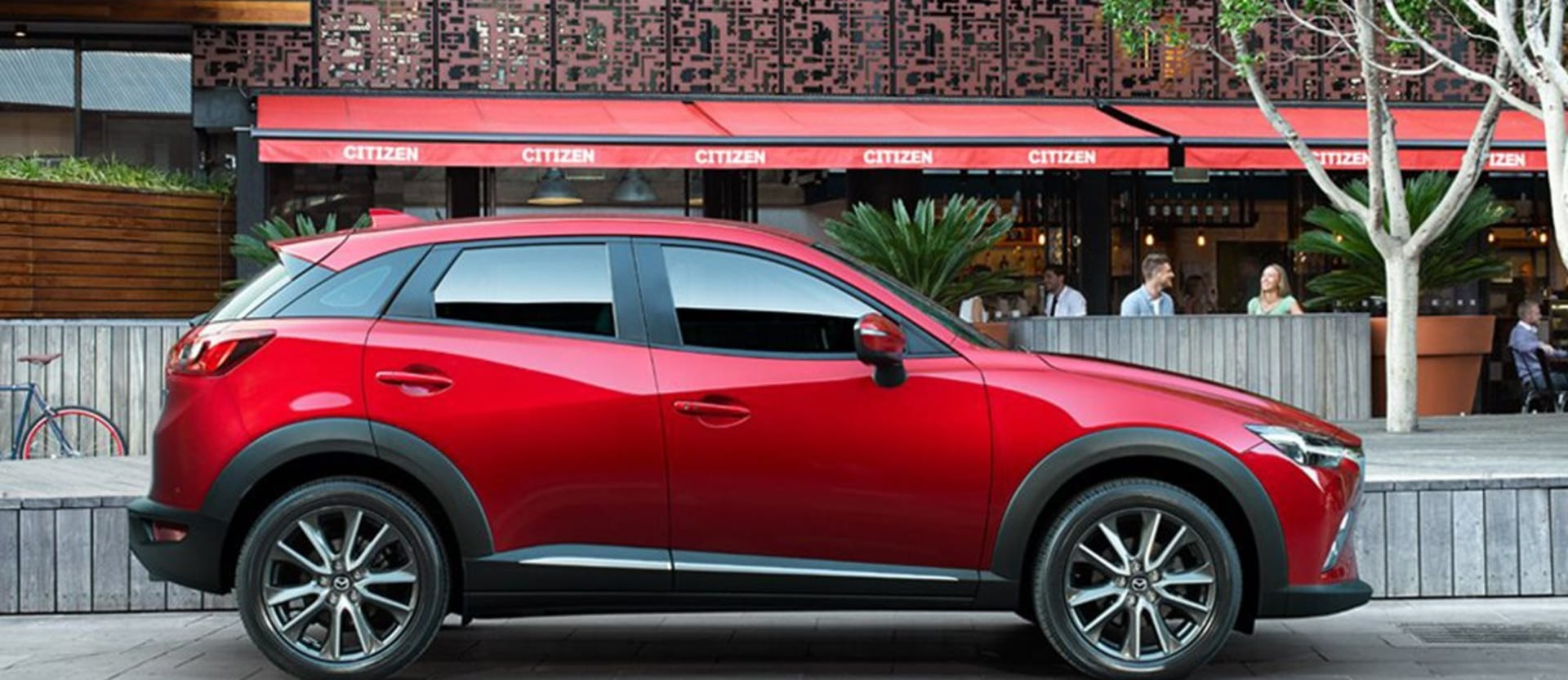 Mazda CX 3 Side Static Red Jpg