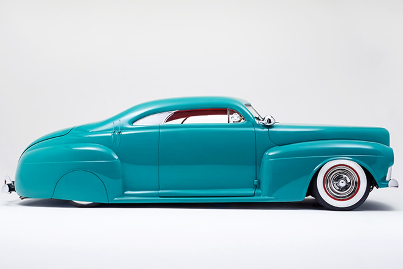 Mercury coupe side view