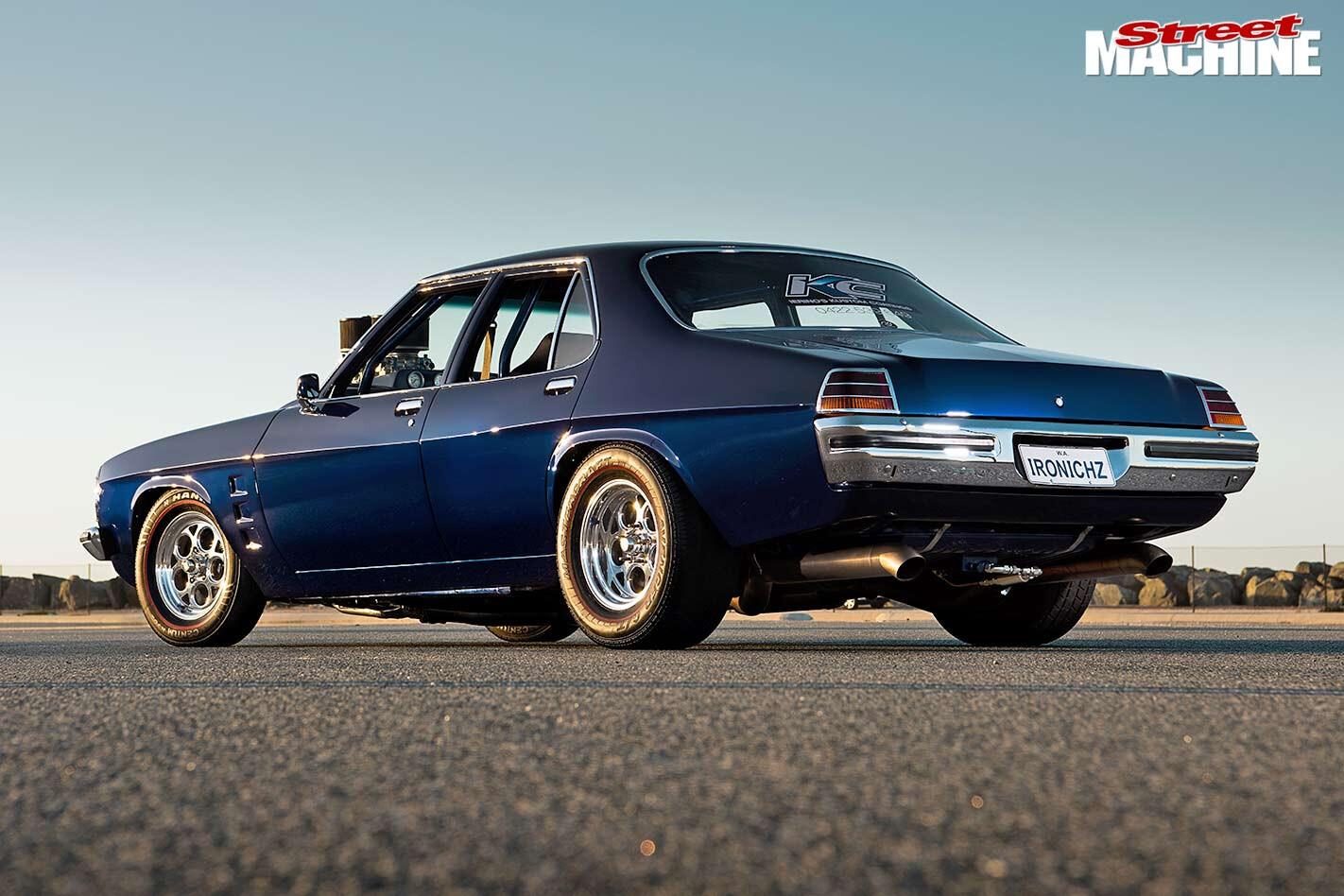 Holden HZ rear