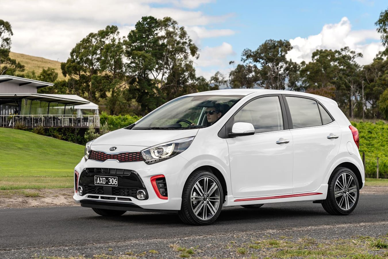 2019 Kia Picanto GT Front Side Static 2 Jpg