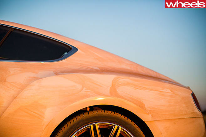 Bentley -Continental -rear -haunch