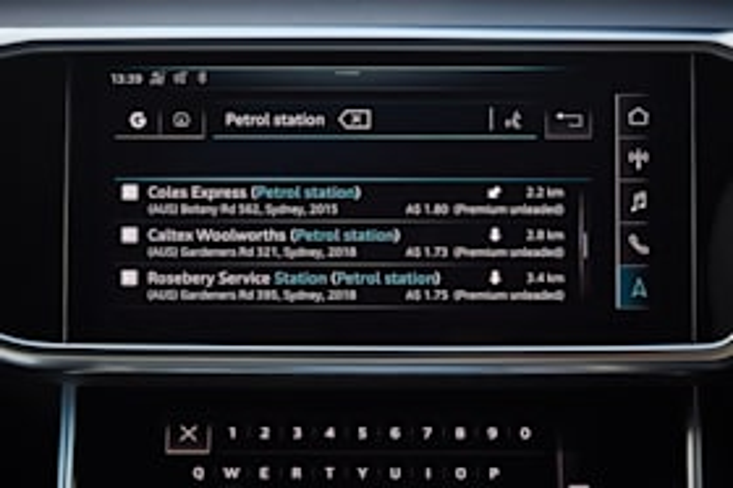 Audi Connect Plus 2019