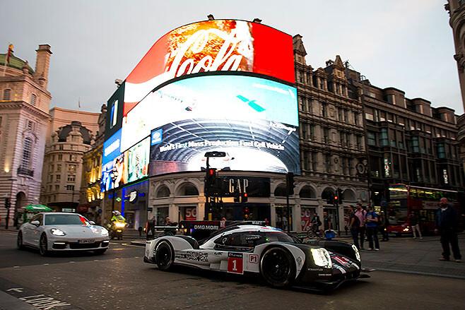 Mark -Webber -porsche -le -mans -London