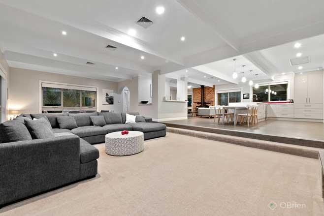 Melbourne House Dream Garage Living Room Jpg