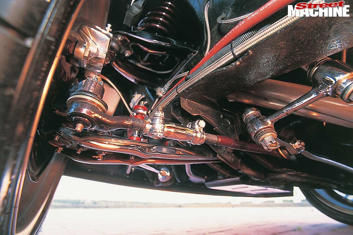 Ford Falcon underside