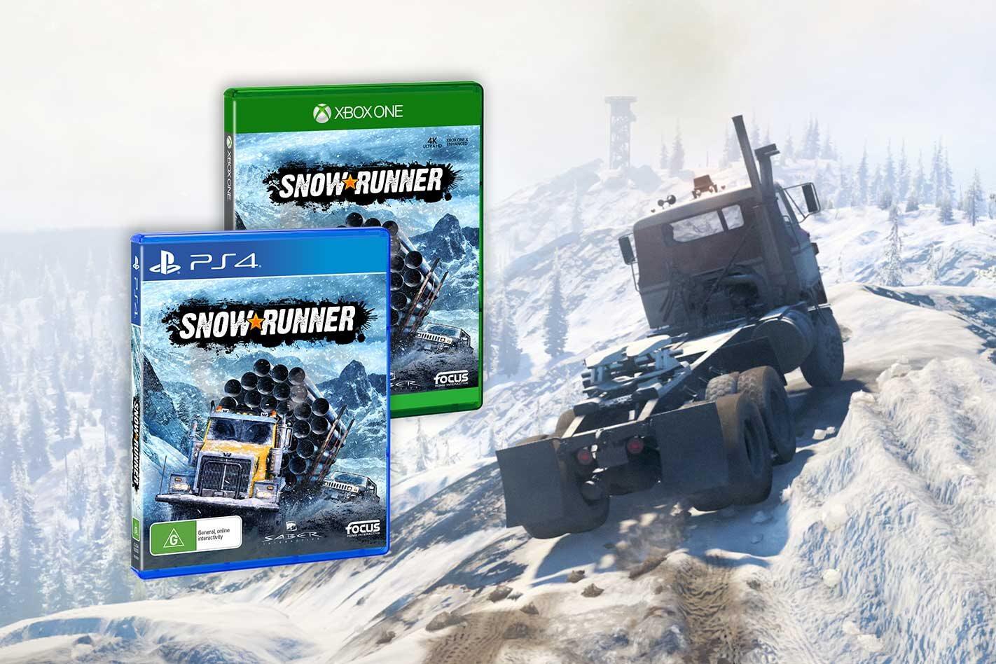 SnowRunner release date details