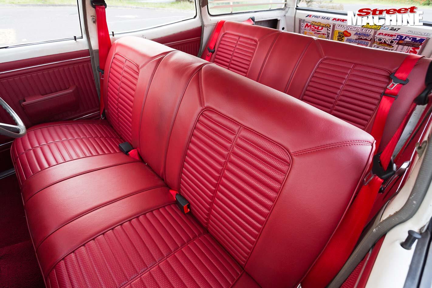 Holden HK wagon  seats