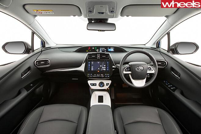 Toyota -Prius -interior