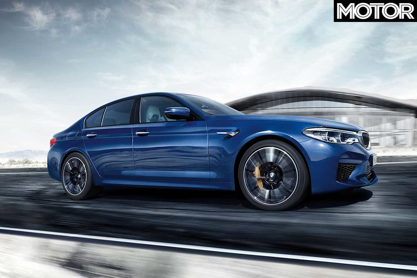 Bmw M 5 Competition Side Profile Jpg