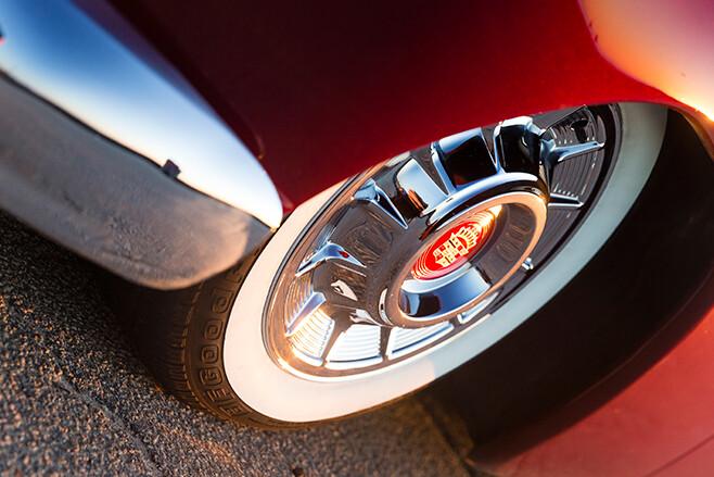 Mercury coupe wheel