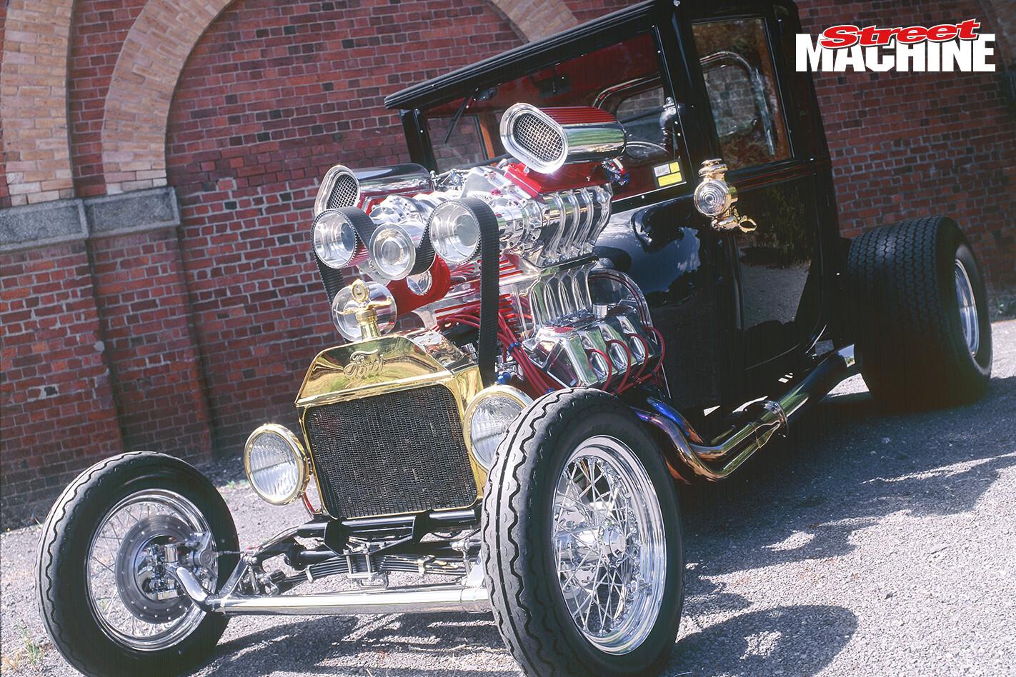 Model T Twin Supercharged Rod Hadfield 6