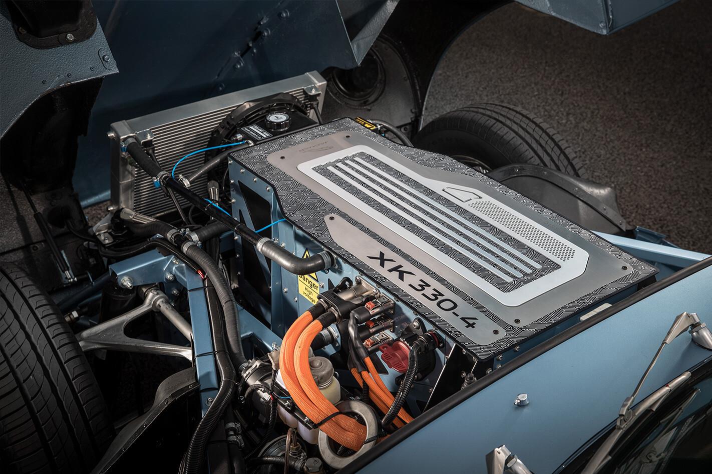 Jaguar Electric E Type Powertrain Jpg