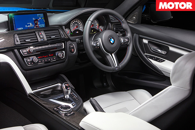 Bmw -m 3-interior