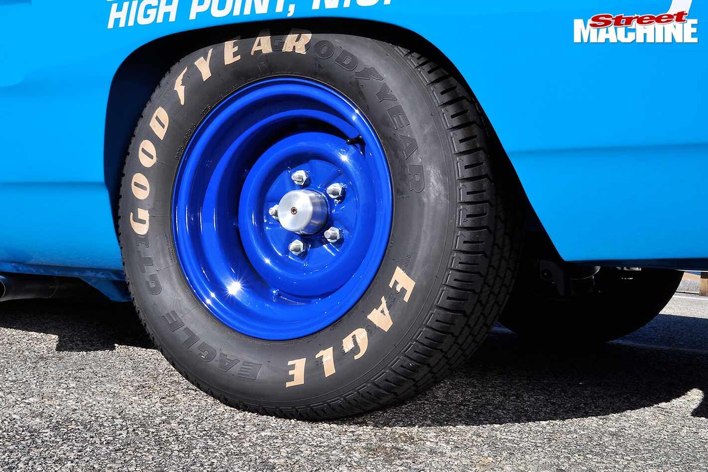 Plymouth Superbird wheel