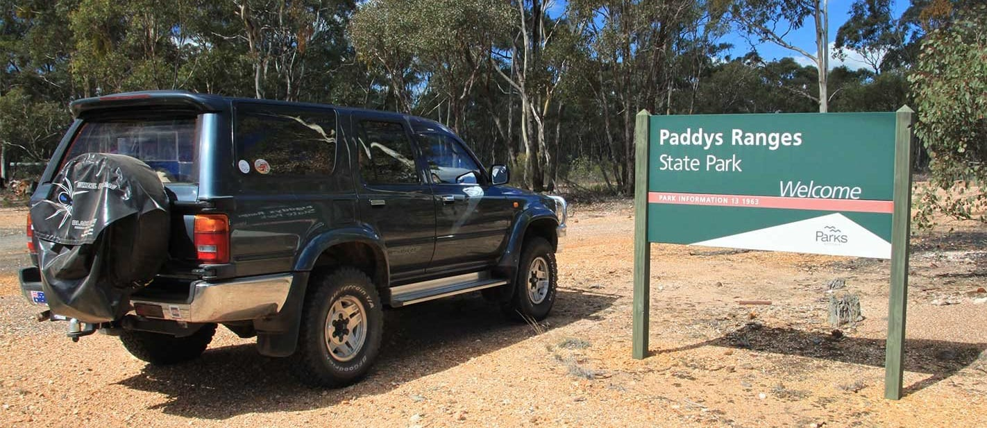 4x4 Trip to Paddys Ranges State Park Vic