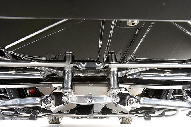 Chev Corvette under