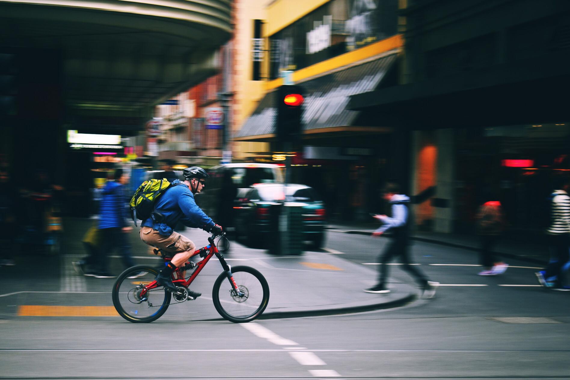 Road cyclist Melbourne Australia