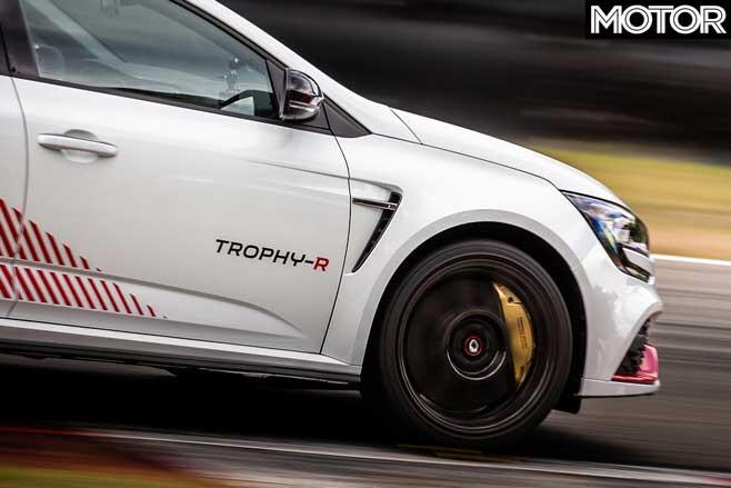 2020 Renault Megane RS Trophy-R carbon fibre wheel