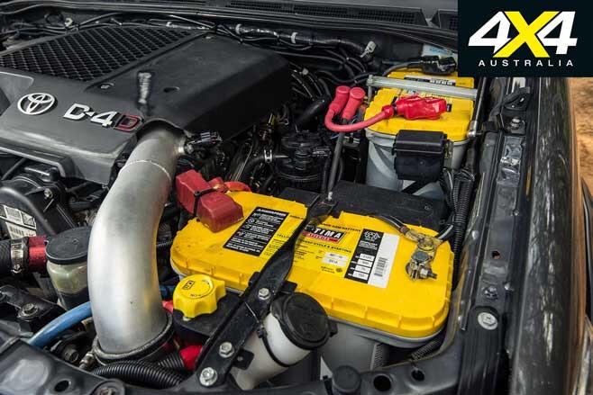 4 X 4 Batteries Dual Battery Setup Jpg