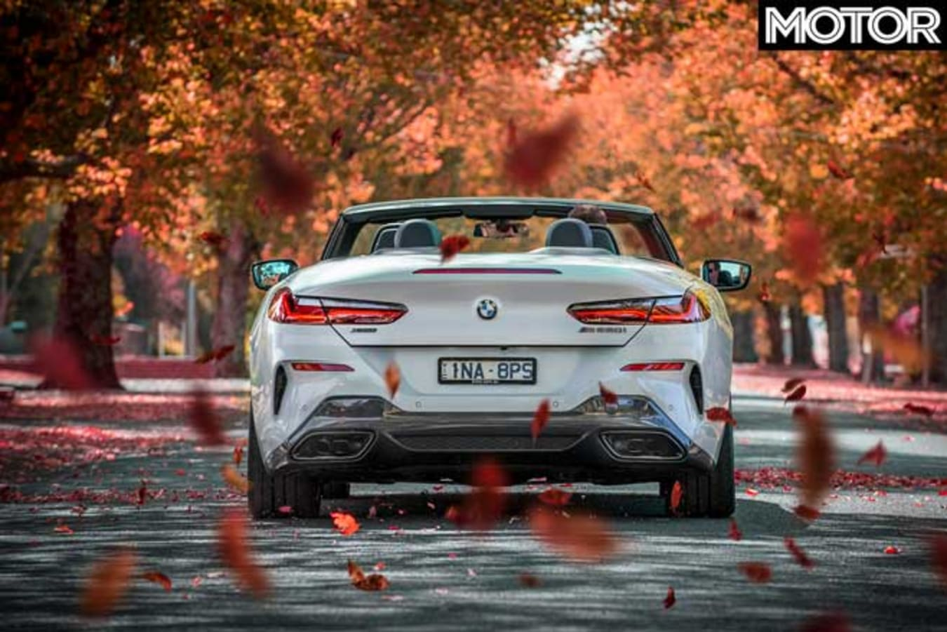 2019 BMW M850i Convertible acceleration