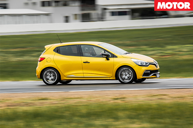 Renault clio rs200 side