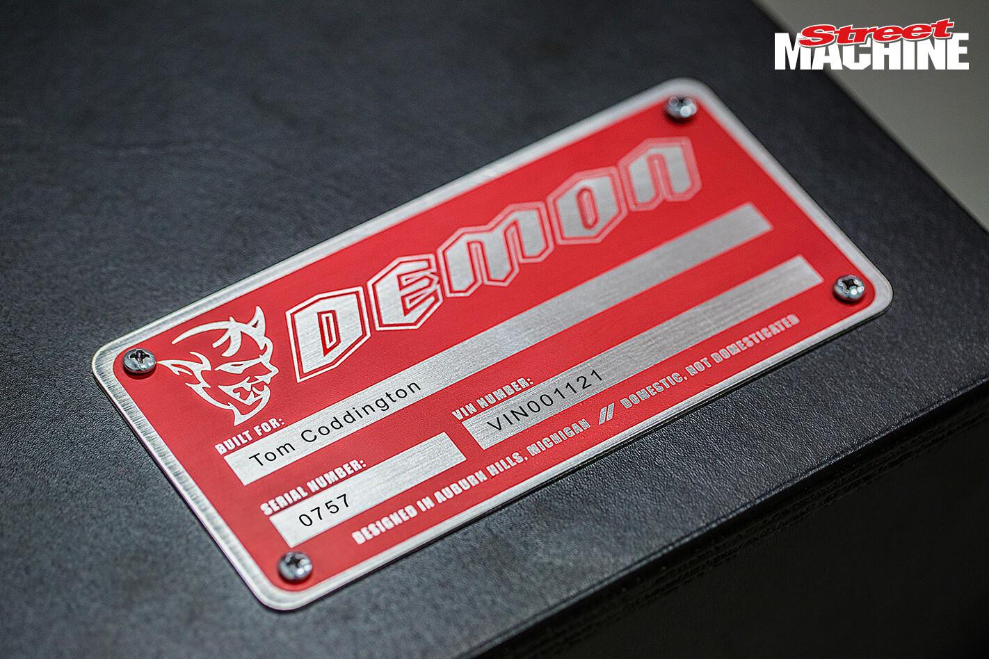 Dodge Demon 4