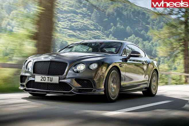 2017-bentley -supersports -front -action
