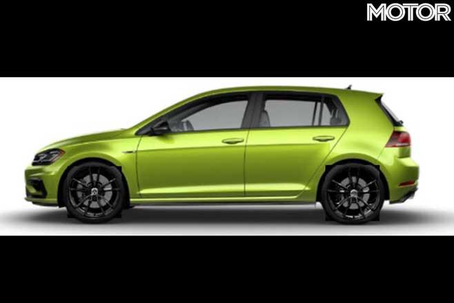 2020 Volkswagen Golf R Final Edition Side Green Jpg