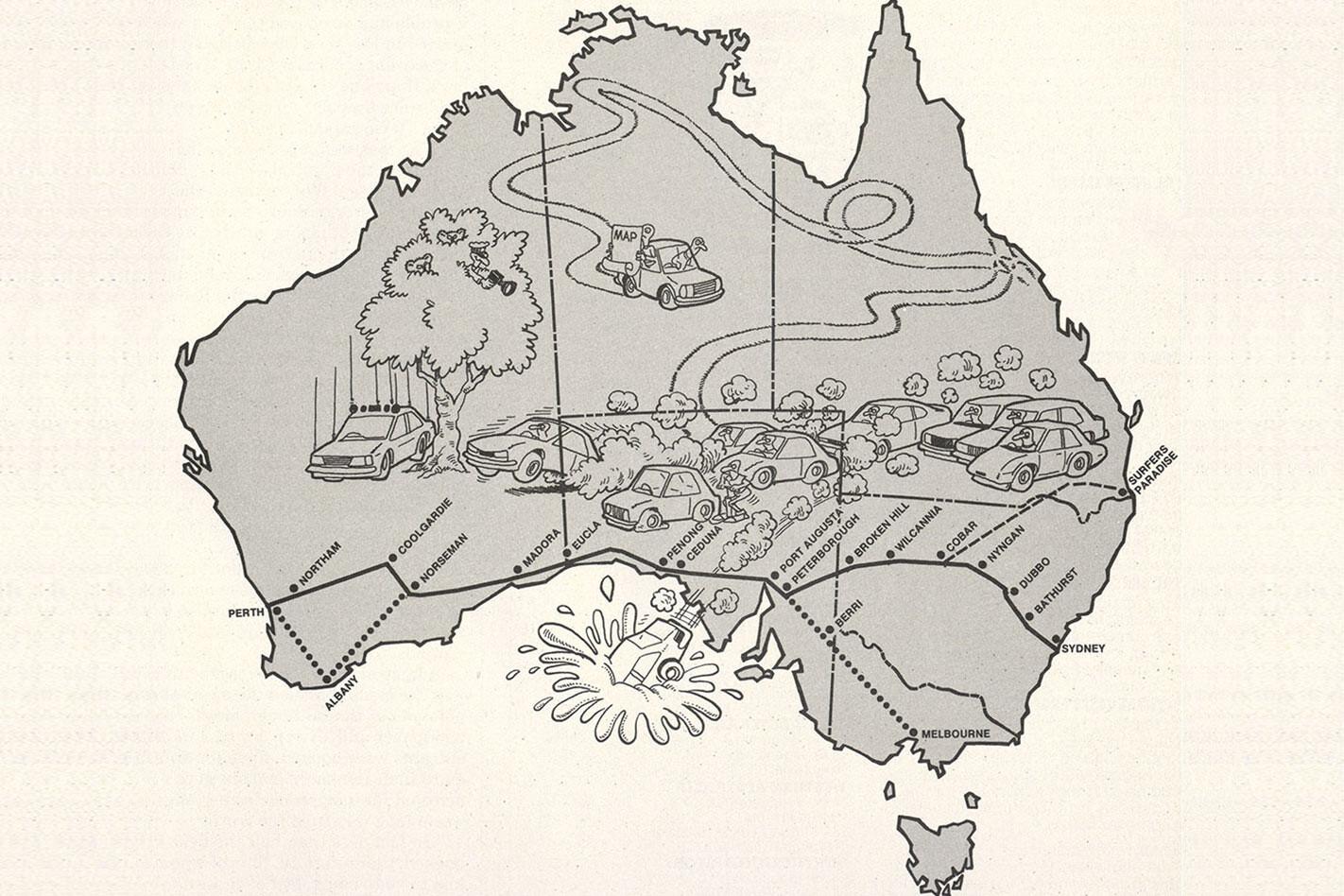 Australia's Cannonball Run