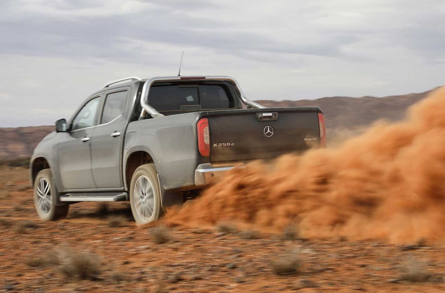 The X-Class is its own ute