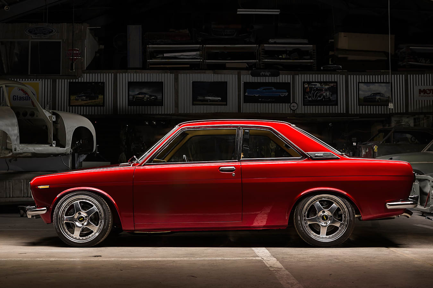 Datsun 1600 side