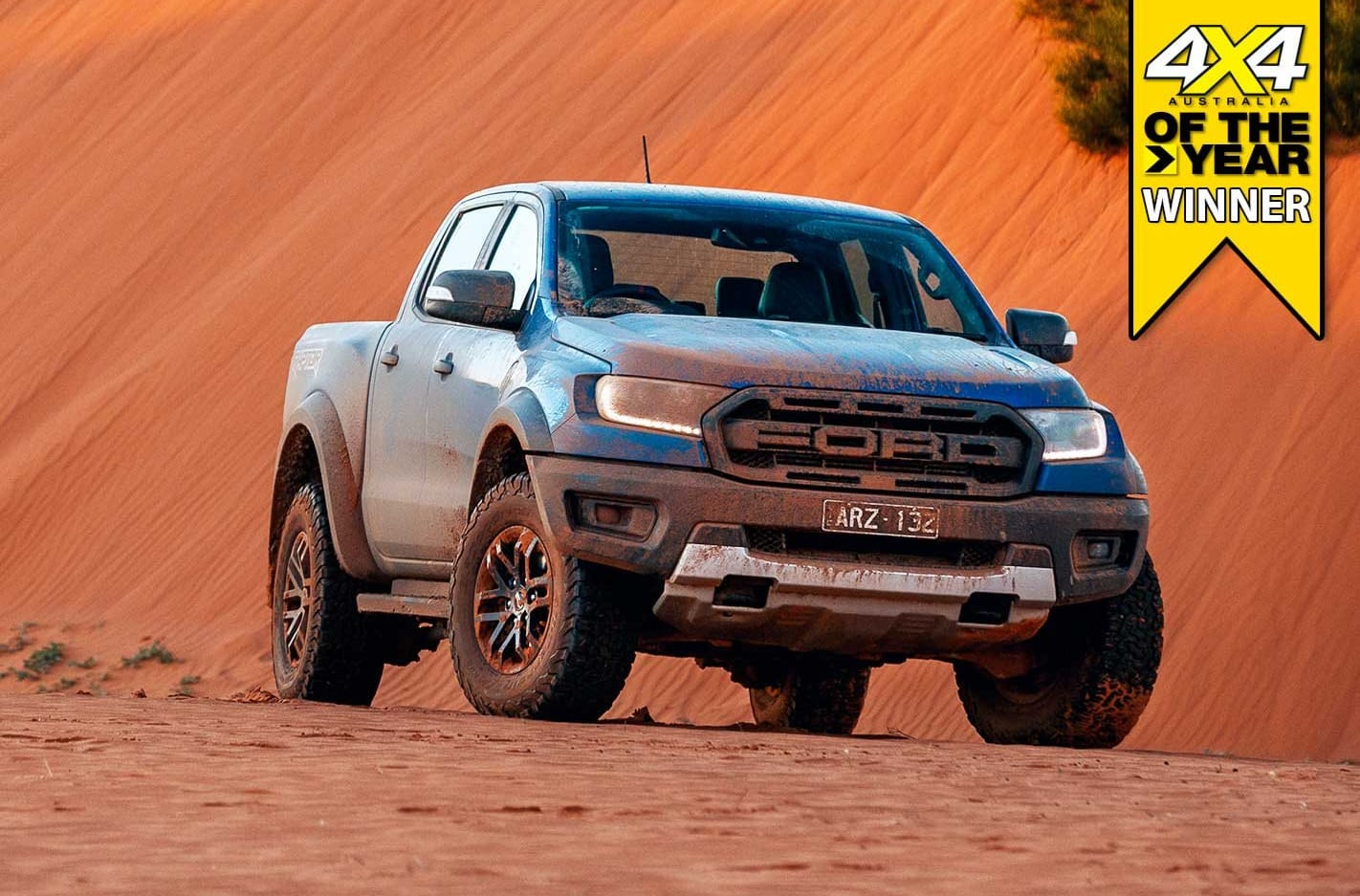 Ford Ranger Raptor crowned 4x4 of the Year