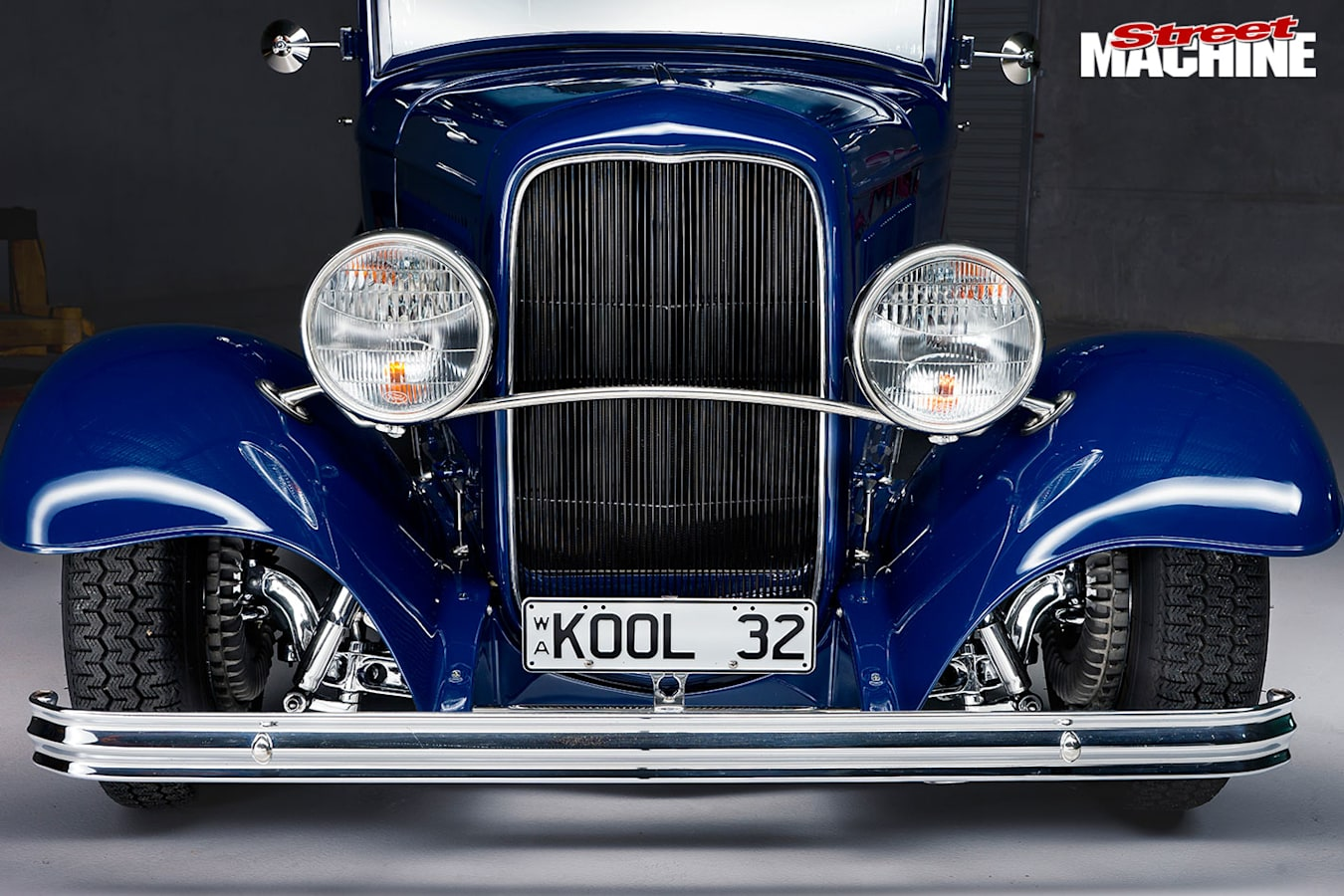Ford five-window coupe front