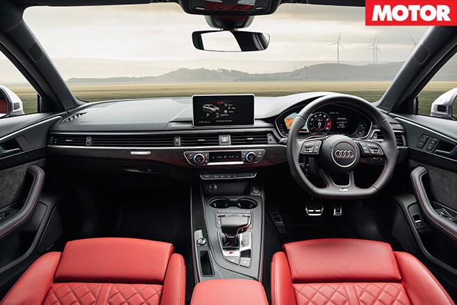 2017 Audi S4 interior