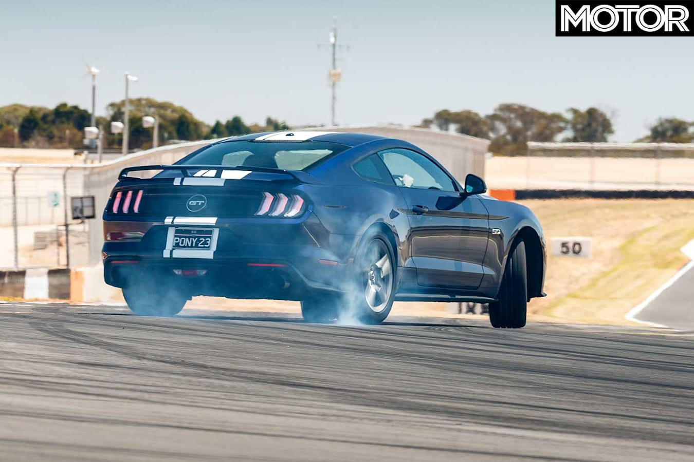 Performance Car Of The Year 2019 Track Test Ford Mustang GT Powerslide Jpg