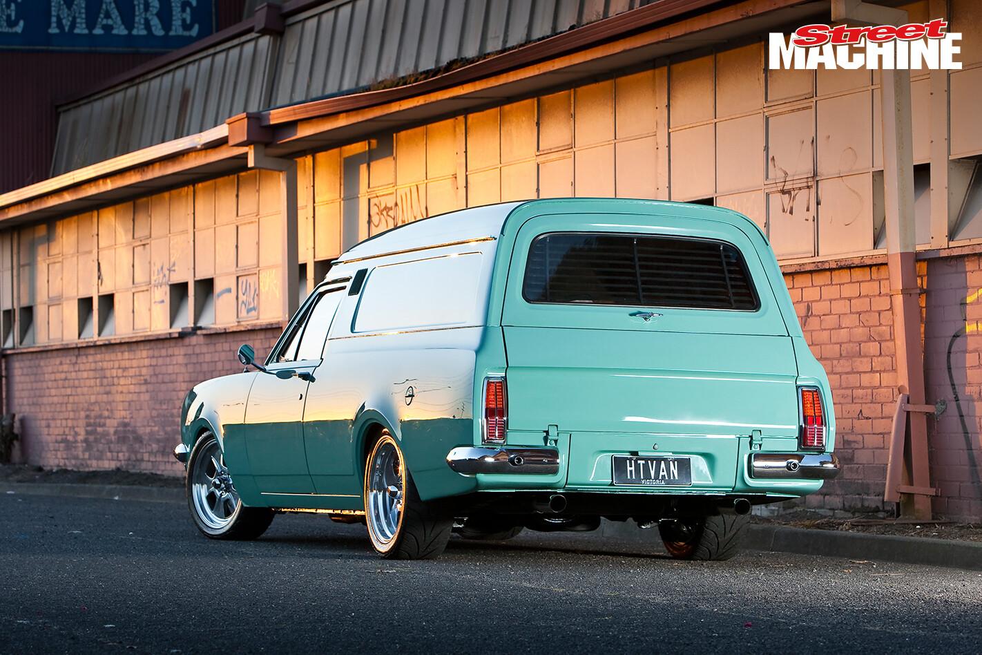 HT Holden Panel Van 12 Nw